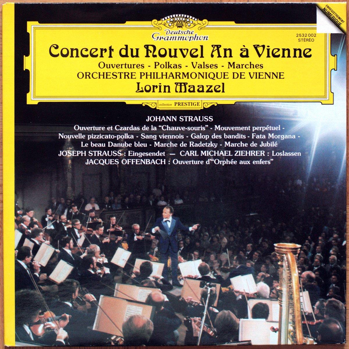 DGG 2532001 Strauss Valses Concert Nouvel An Maazel