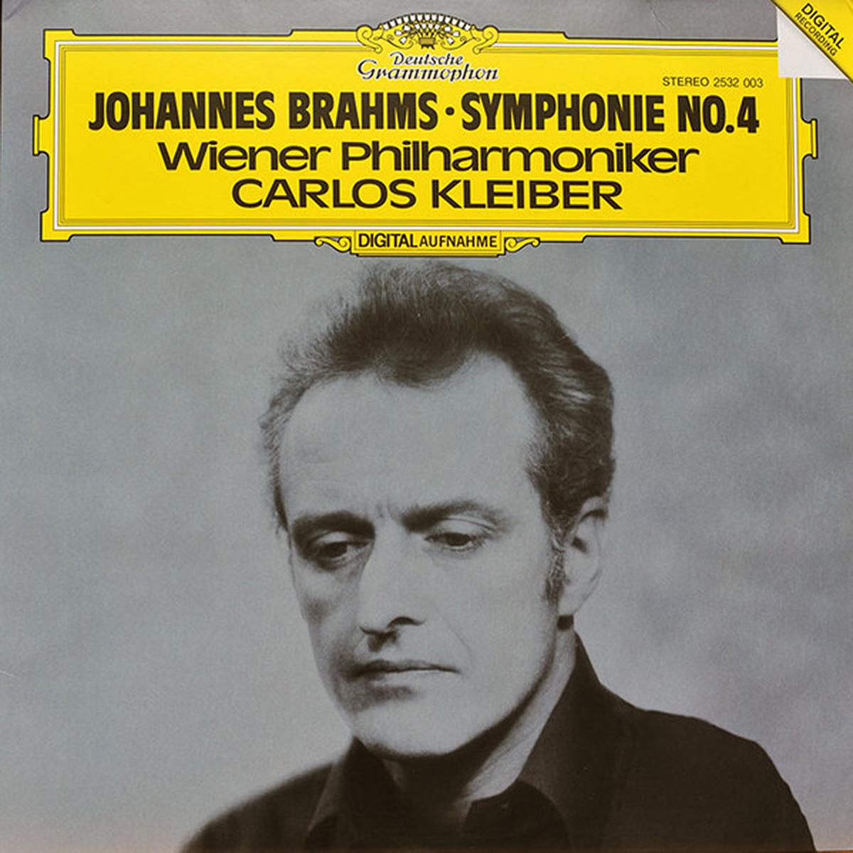 DGG 2532003 Brahms Symphonie 4 Kleiber