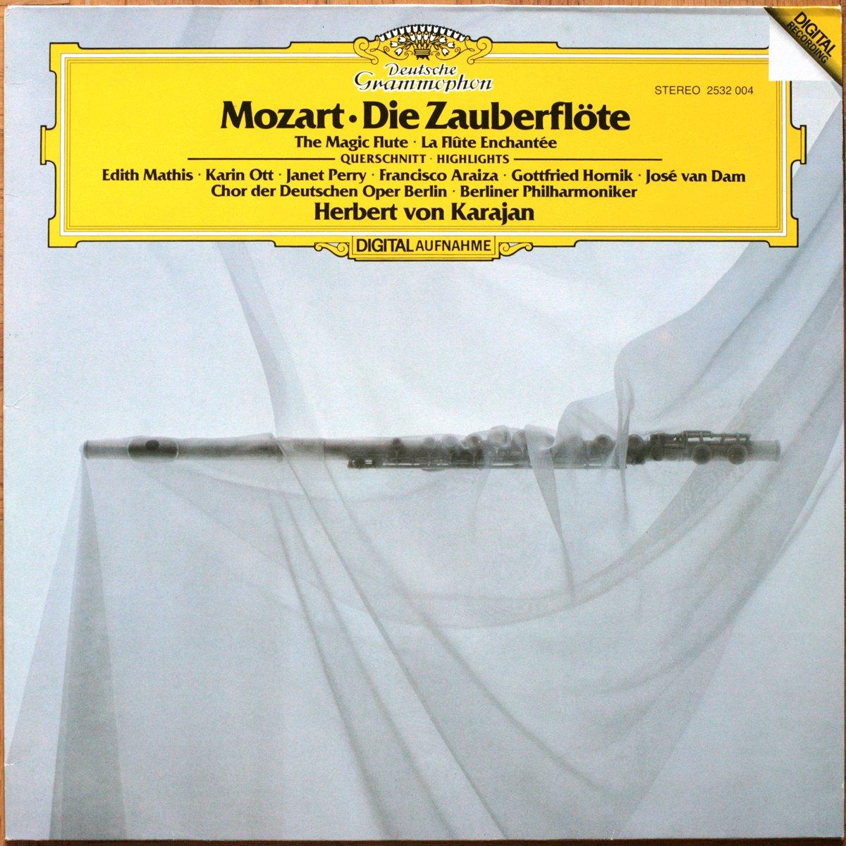 DGG 2532004 Mozart Zauberflote Karajan