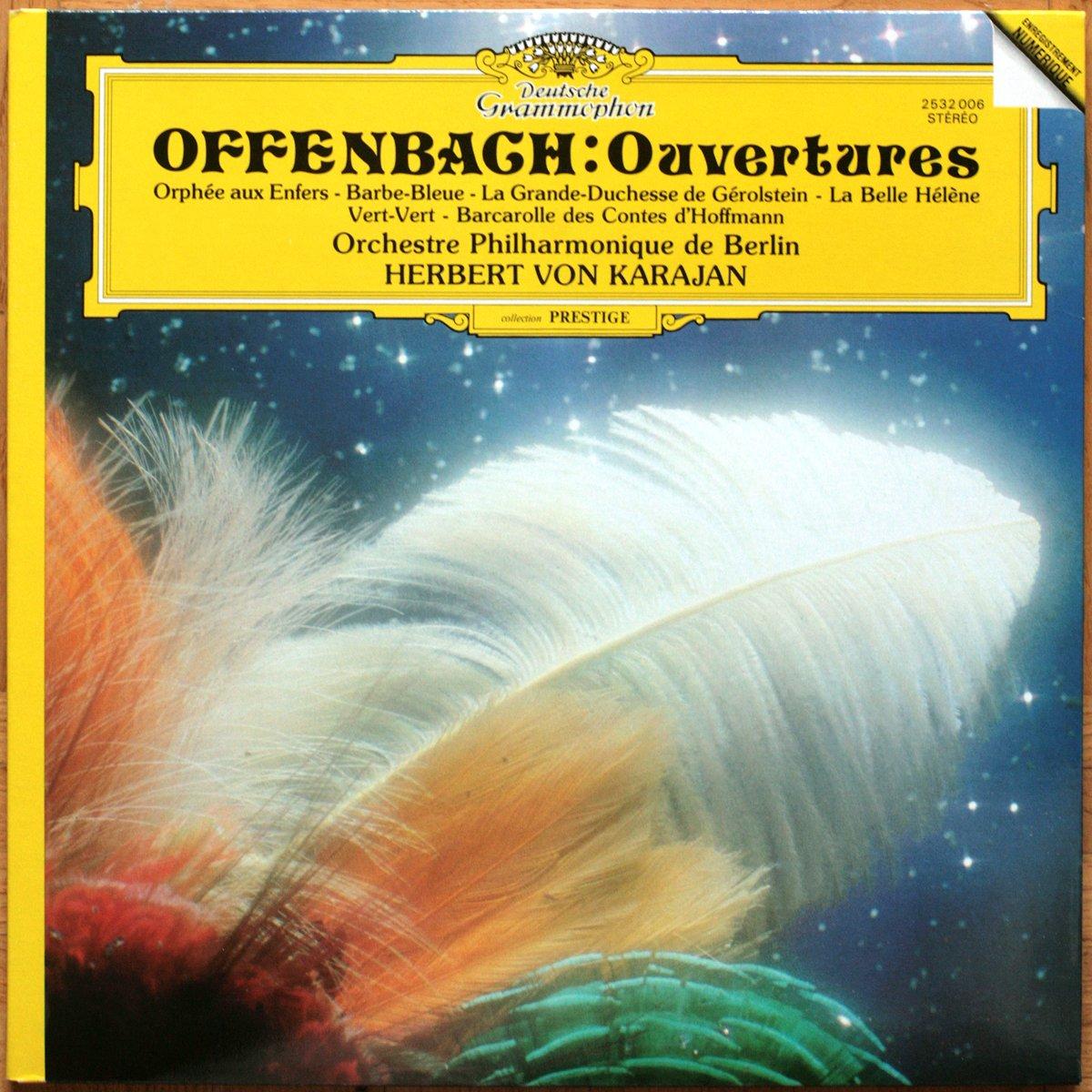 DGG 2532006 Offenbach Ouvertures Karajan
