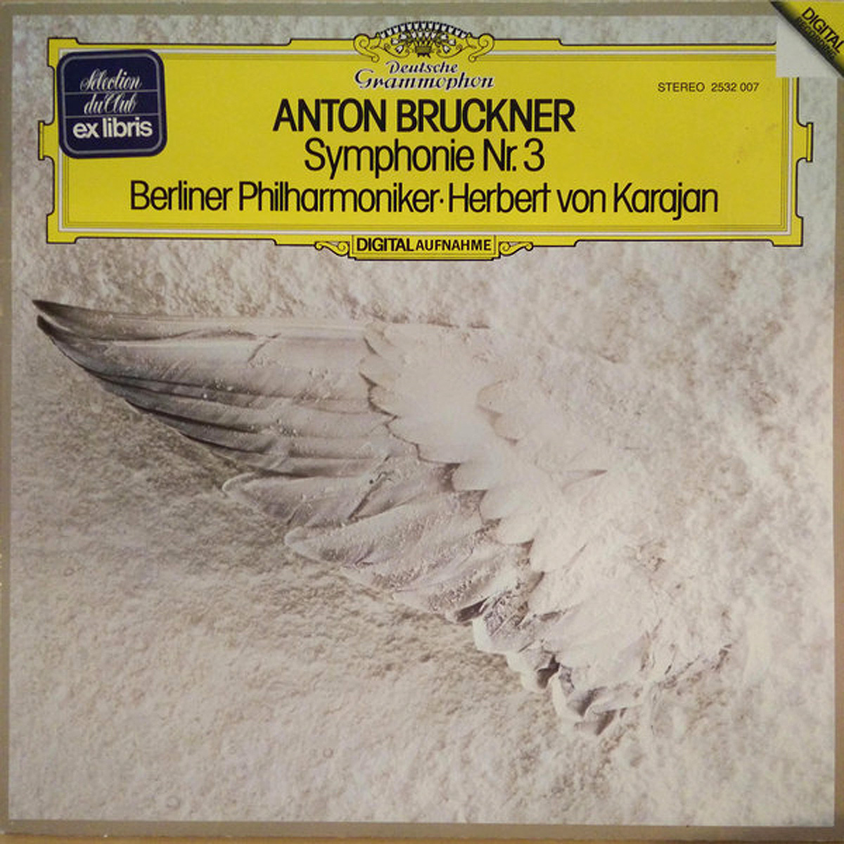 DGG 2532007 Brucknery Symphonie 3 Karajan