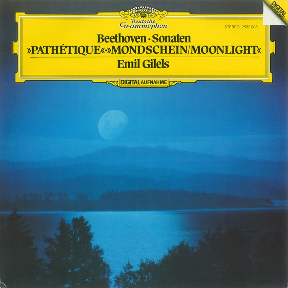 DGG 2532008 Beethoven Sonates Gilels