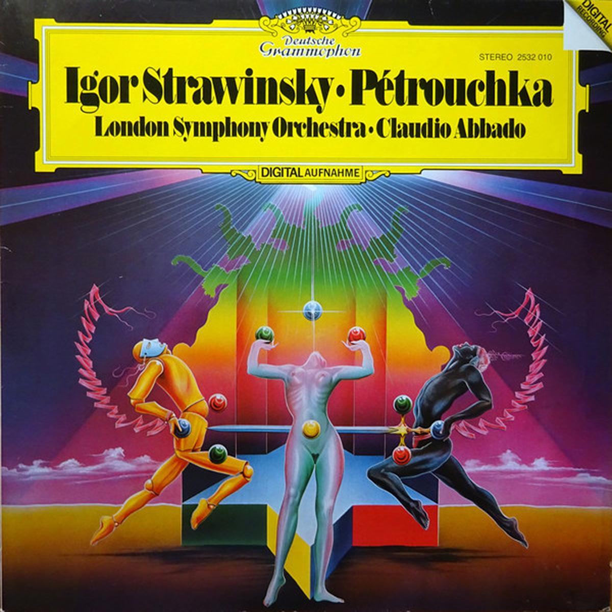 DGG 2532010 Strawinsky Petrouchka Abbado