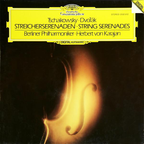 DGG 2532012 Tchaikowsky Serenades Karajan