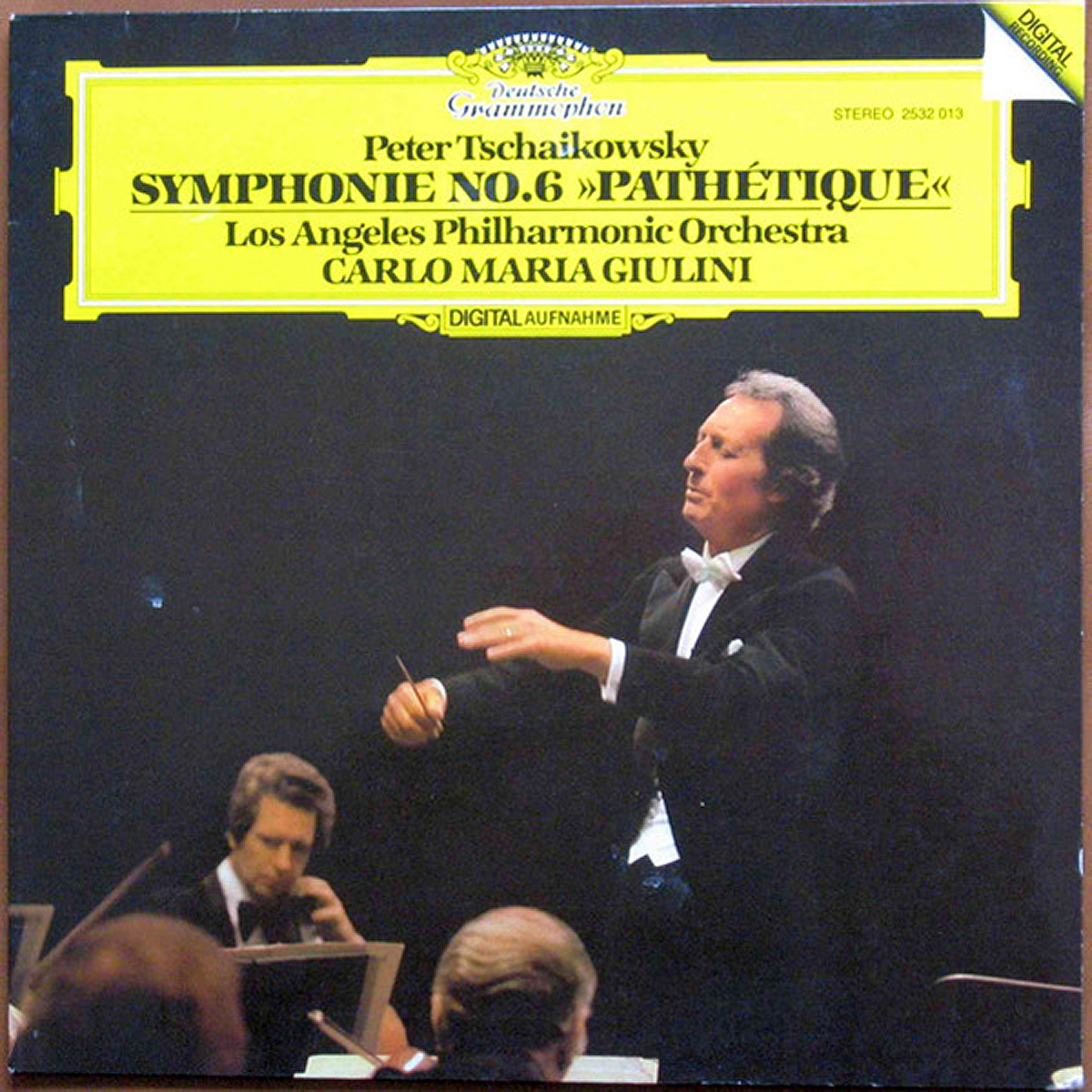 DGG 2532013 Tchaikovsky Symphonie 6 Giulini