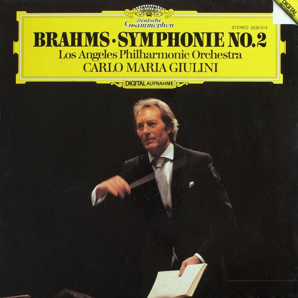 DGG 2532014 Brahms Symphonie 2 Giulini