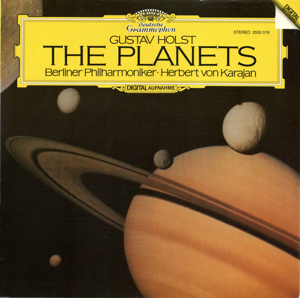 DGG 2532019 Holst Planetes Karajan