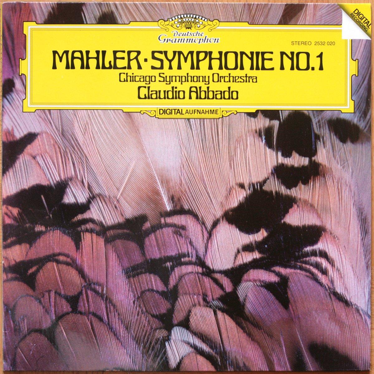 DGG 2532020 Mahler Symphonie 1 Abbado