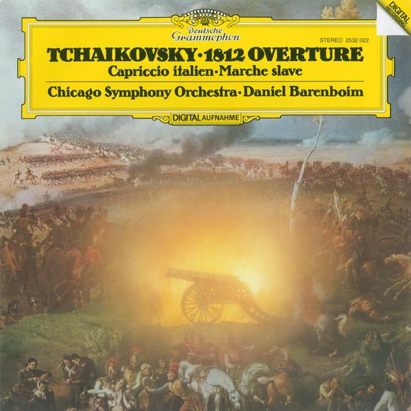 DGG 2532022 Tchaikovsky Ouverture 1812 Barenboim