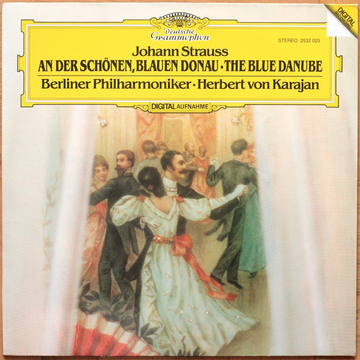 DGG 2532025 Strauss Valses Karajan