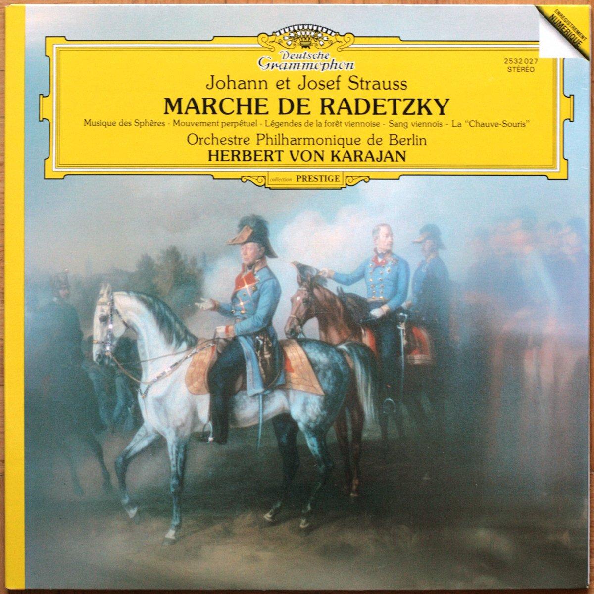 DGG 2532027 Strauss Marche Karajan