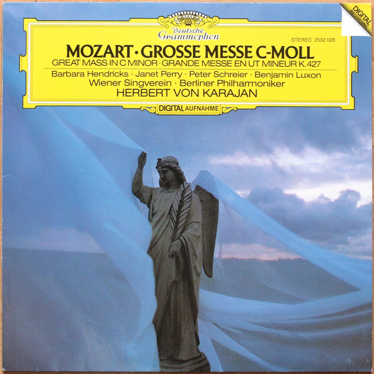 DGG 2532028 Mozart Grande Messe Ut Karajan