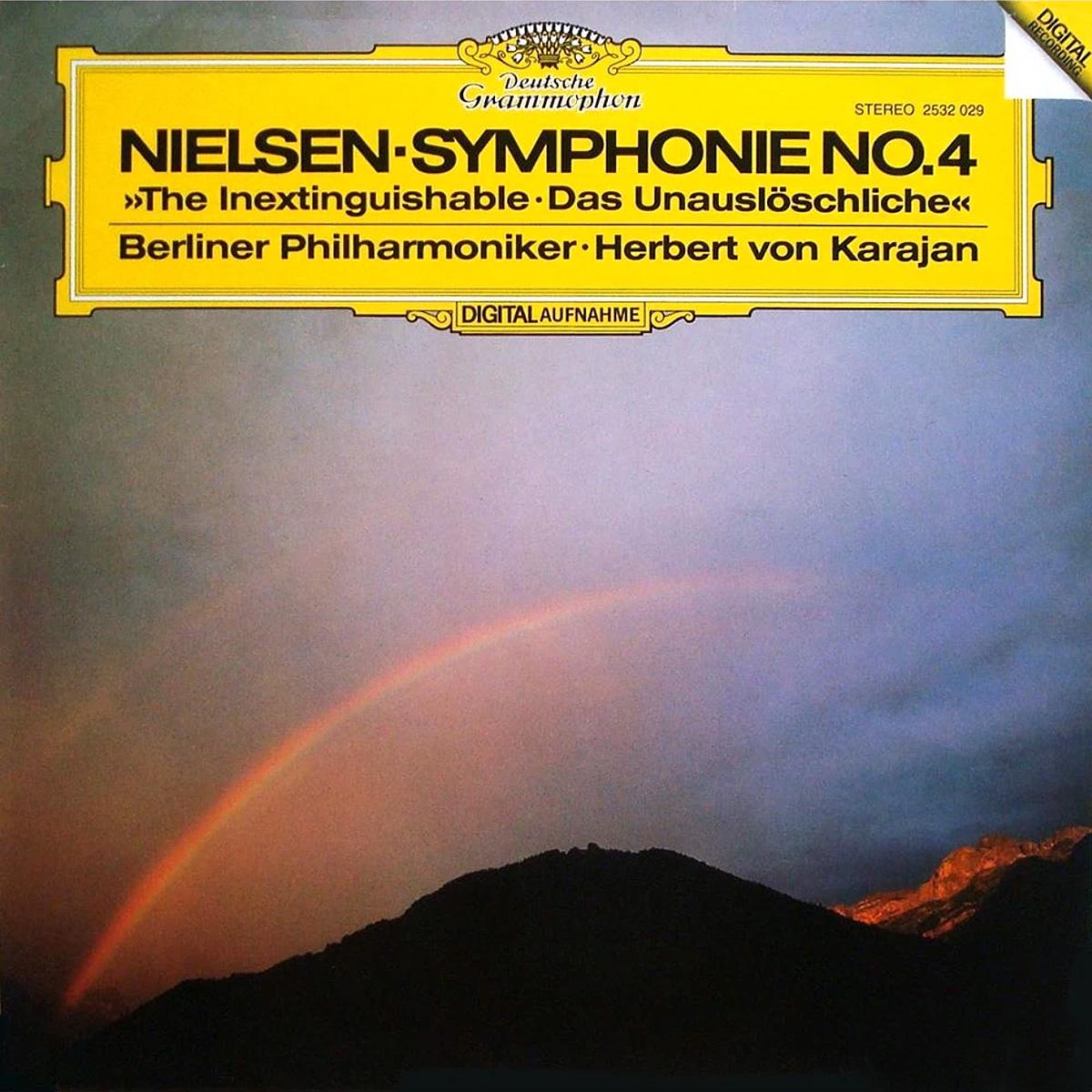 DGG 2532029 Nielsen Symphonie 4 Karajan