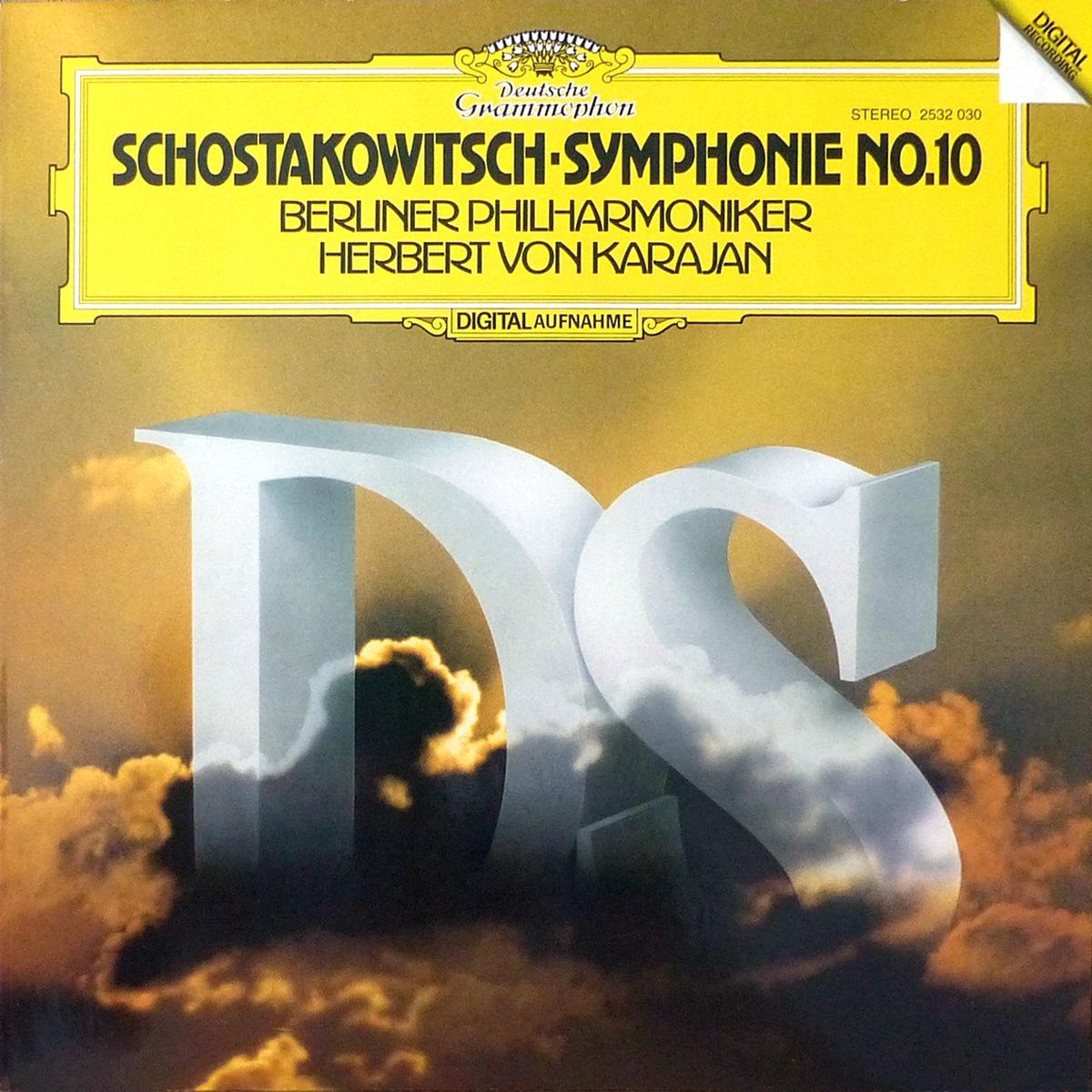 DGG 2532030 Shostakovitch Symphonie 10 Karajan