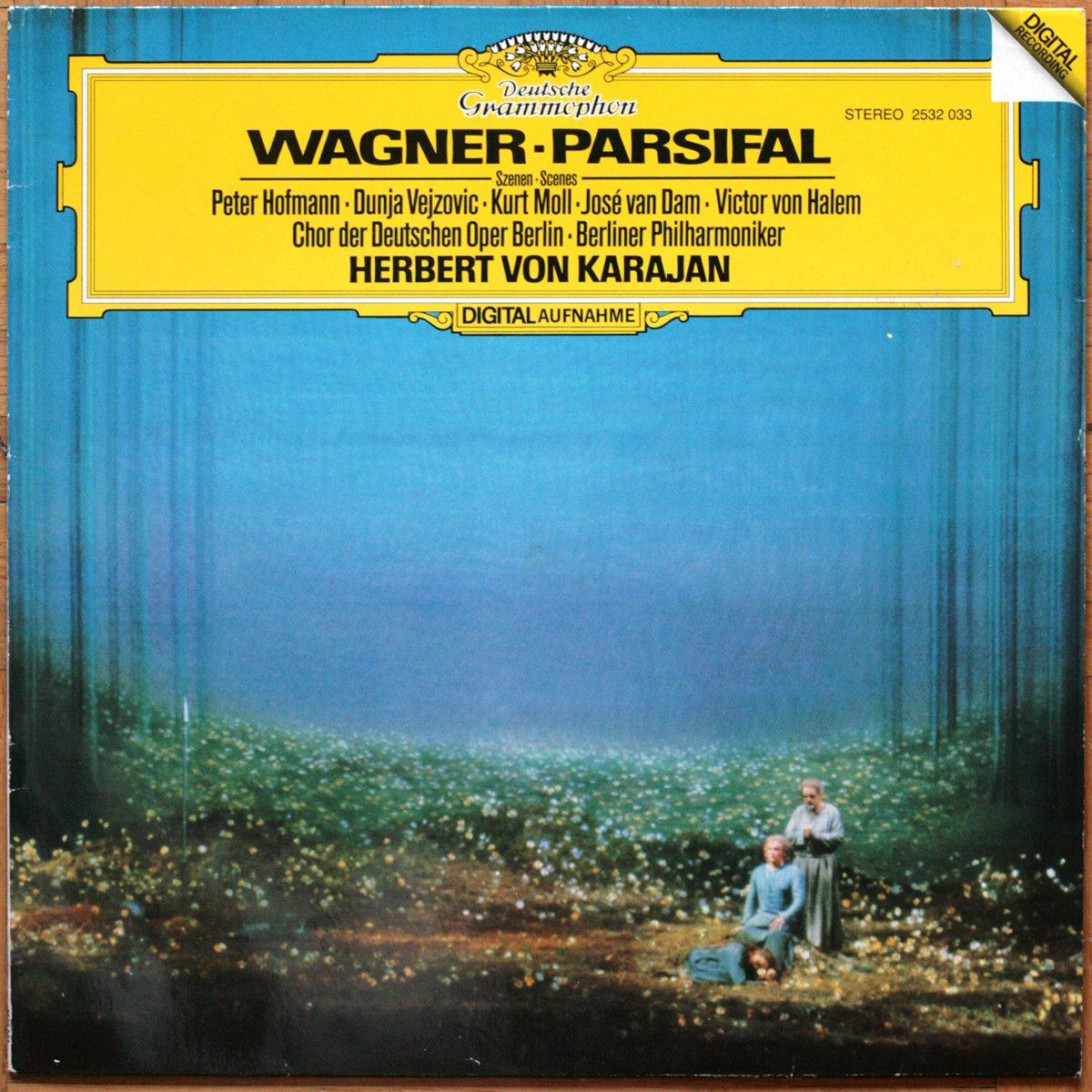DGG 2532033 Wagner Parsifal Karajan