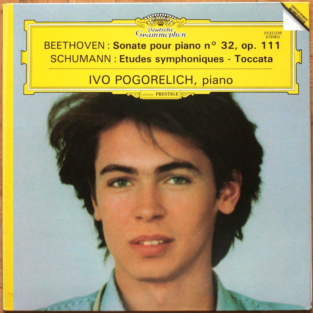 DGG 2532036 Beethoven Schumann Pogorelich