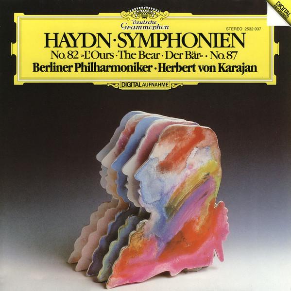 DGG 2532037 Haydn Symphonies 82 87 Karajan