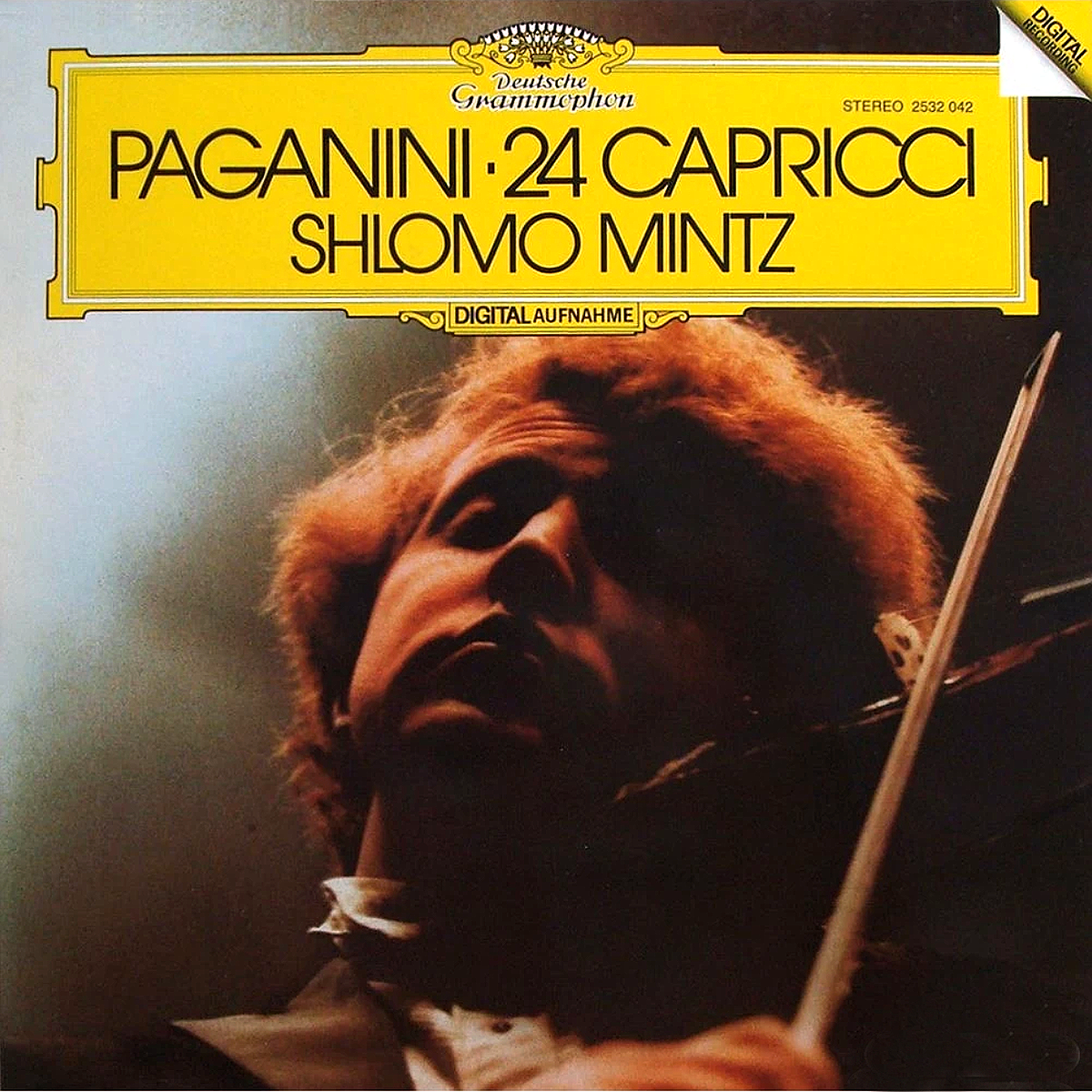 DGG 2532042 Paganini Caprices Mintz
