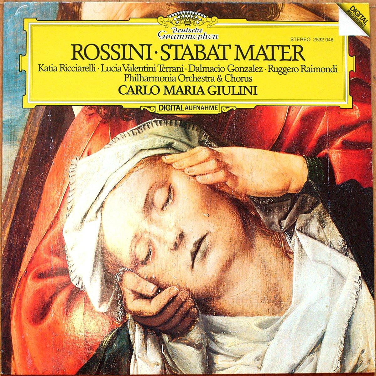 DGG 2532046 Rossini Stabat Mater Giulini DGG Digital Aufnahme