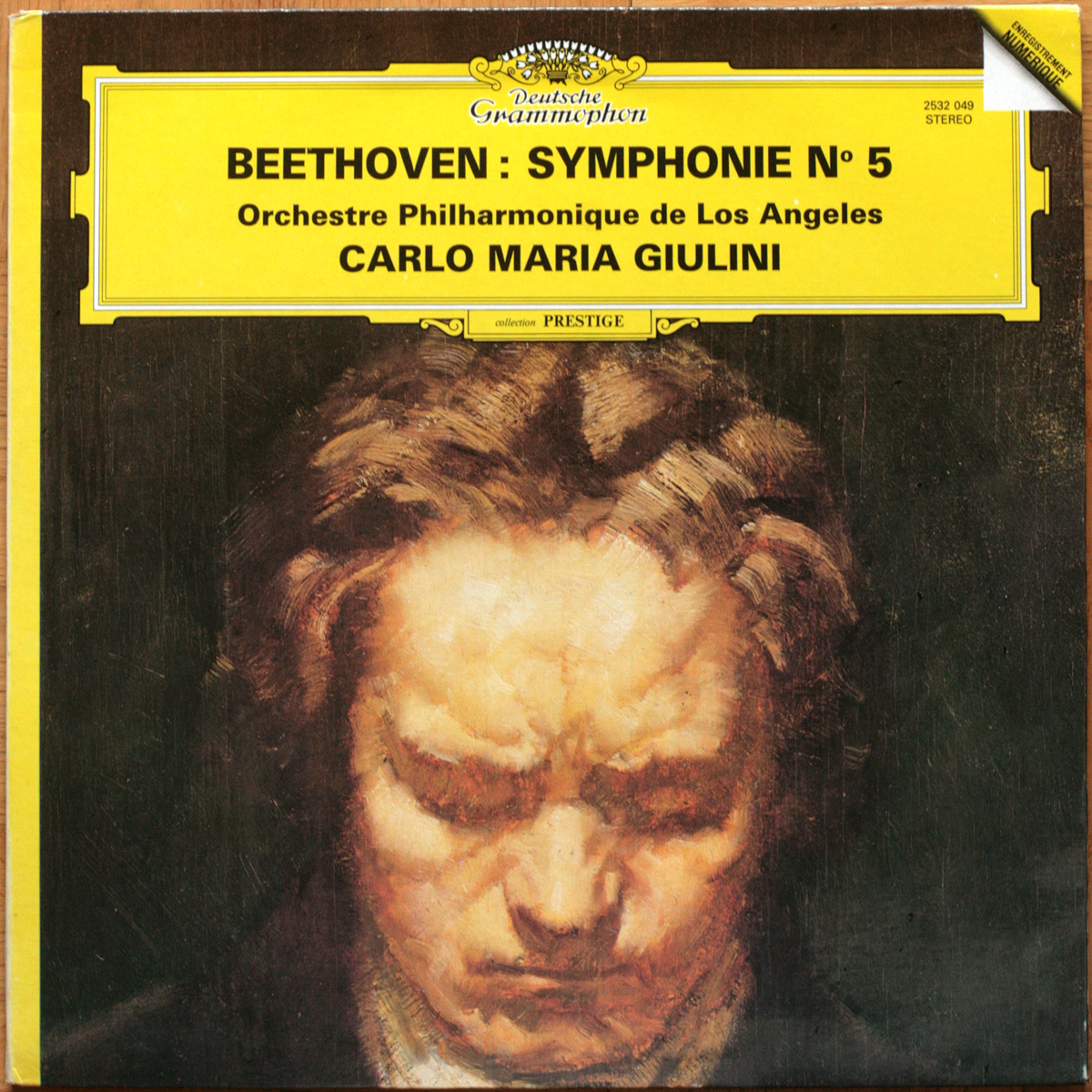 DGG 2532049 Beethoven Symphonie 5 Giulini