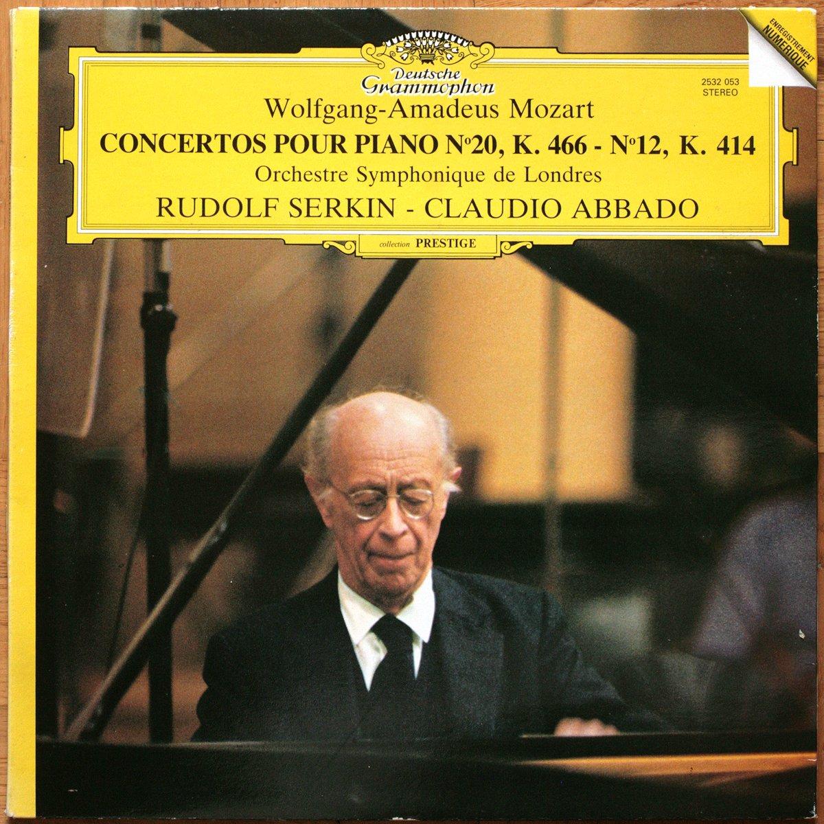 DGG 2532053 Mozart Concerto Piano 20 12 Serkin Abbado