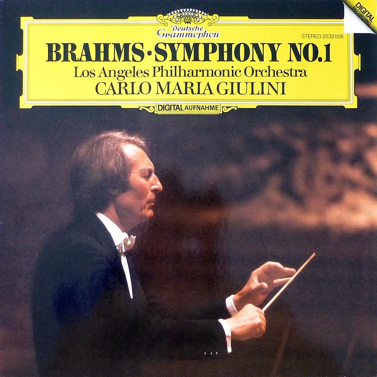 DGG 2532056 Brahms Symphonie 1 Abbado