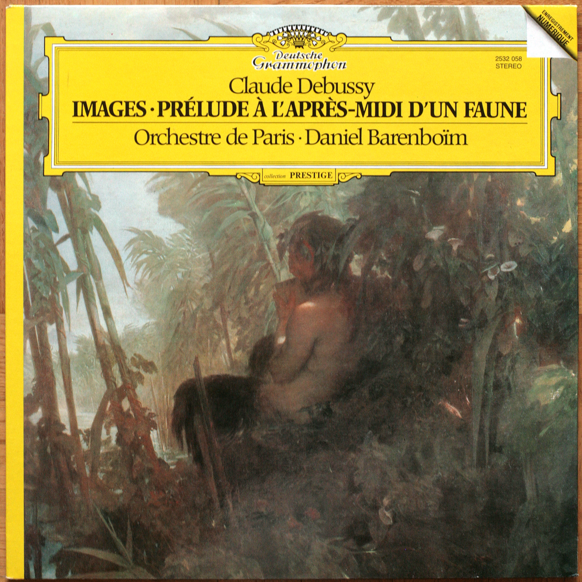 DGG 2532058 Debussy mages Barenboim