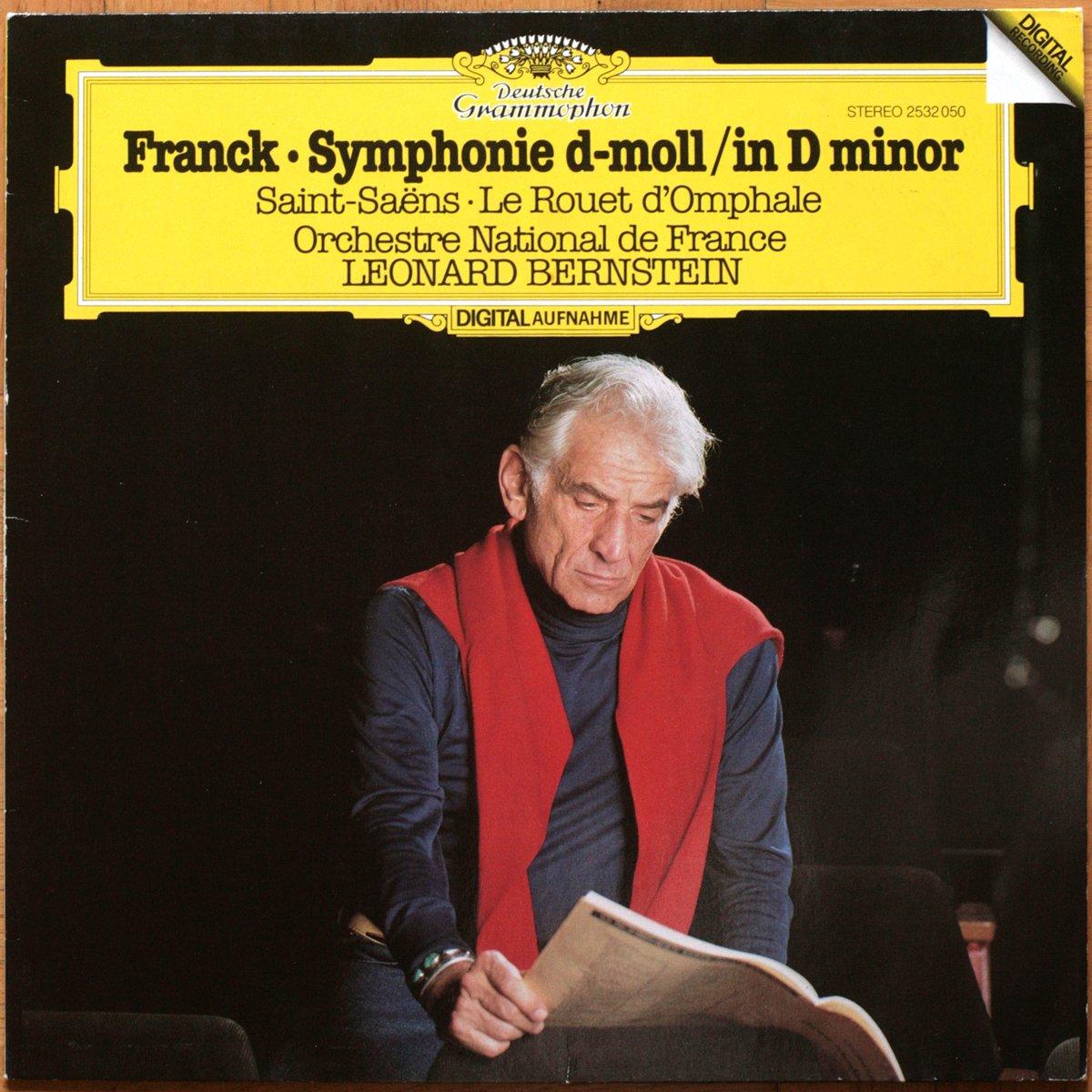 DGG 2532050 Franck Saint Saens Rouet Bernstein