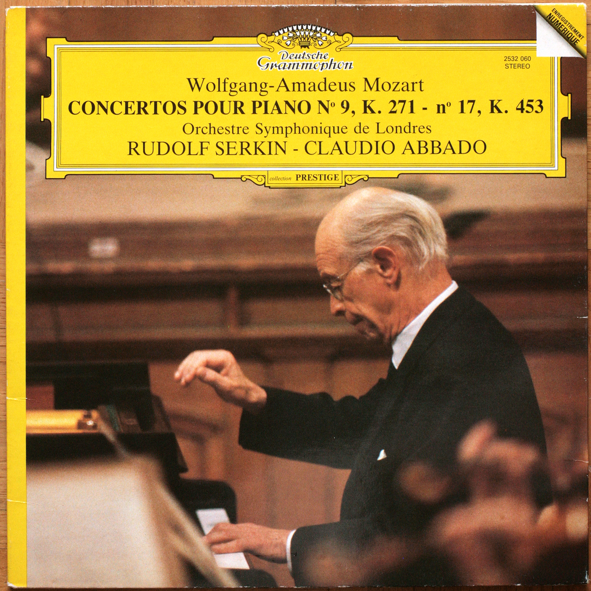 DGG 2532053 Mozart Concerto Piano 22 17 Serkin Abbado