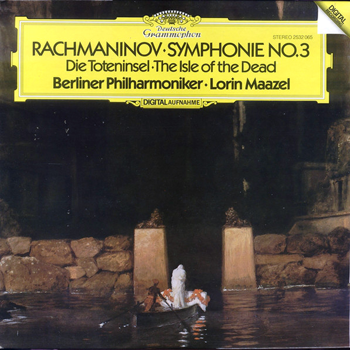 DGG 2532065 Rachmaninov Symphonie 3 Maazel