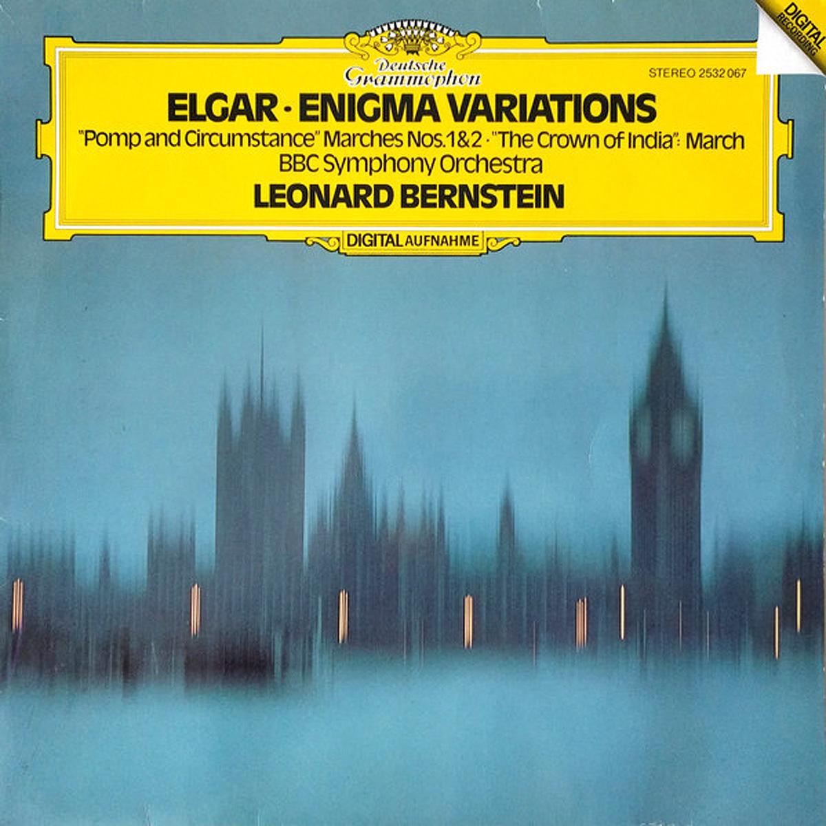 DGG 2532067 Elgar Enigma Variations Bernstein