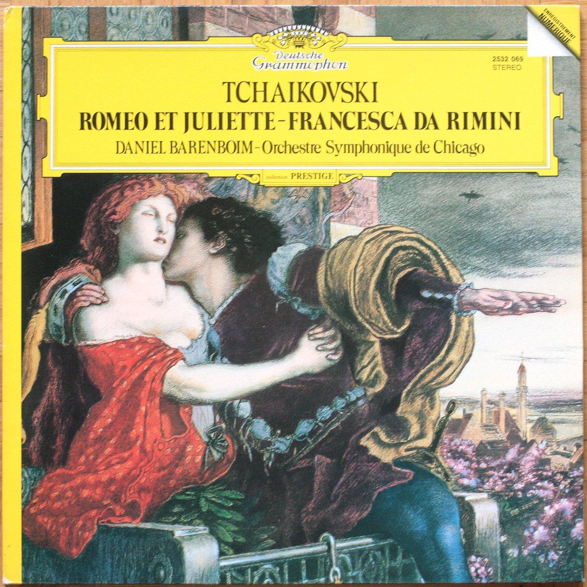 DGG 2532069 Tchaikovsky Romeo Barenboim