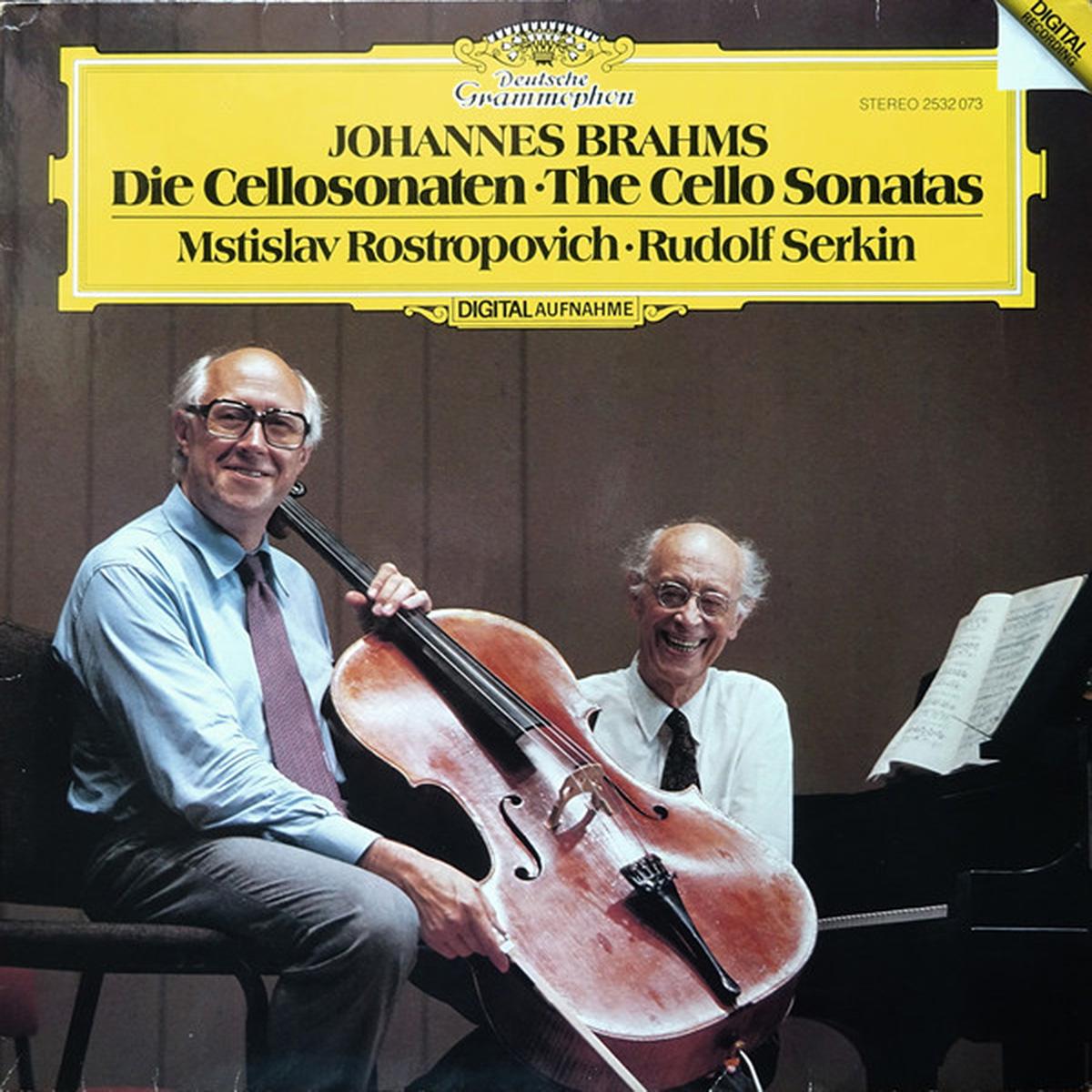 DGG 2532073_Brahms Sonates Rosropovitch Serkin