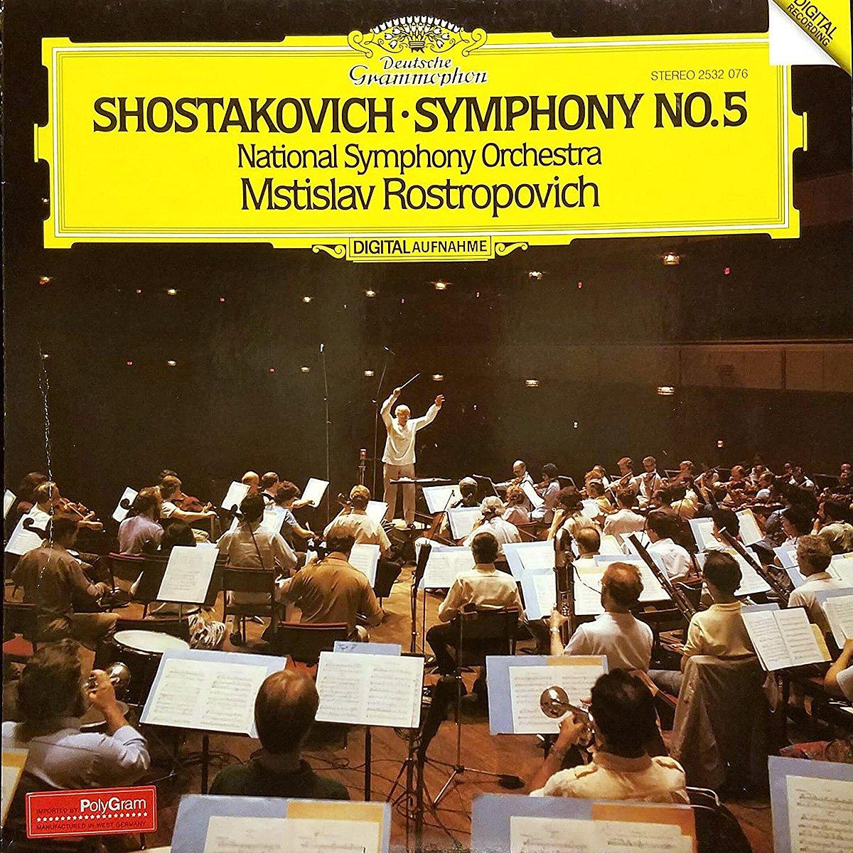 DGG 2532076 Shostakovich Symphonie 5 Rostropovich
