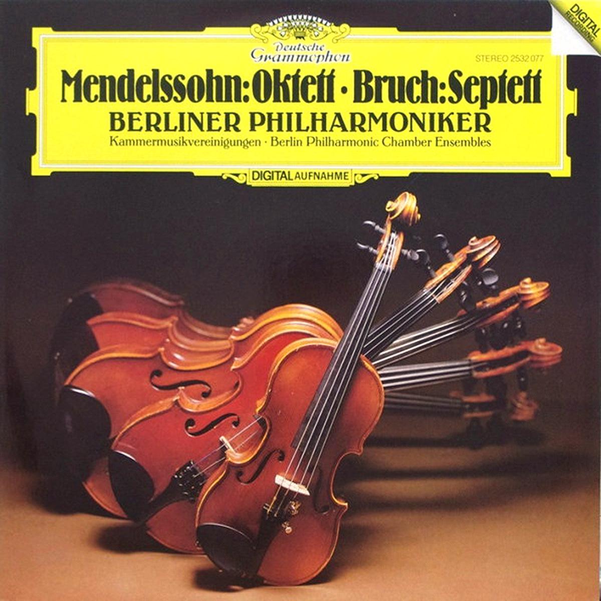 DGG 2532077 Mendelssohn Bruch Septett Oktett