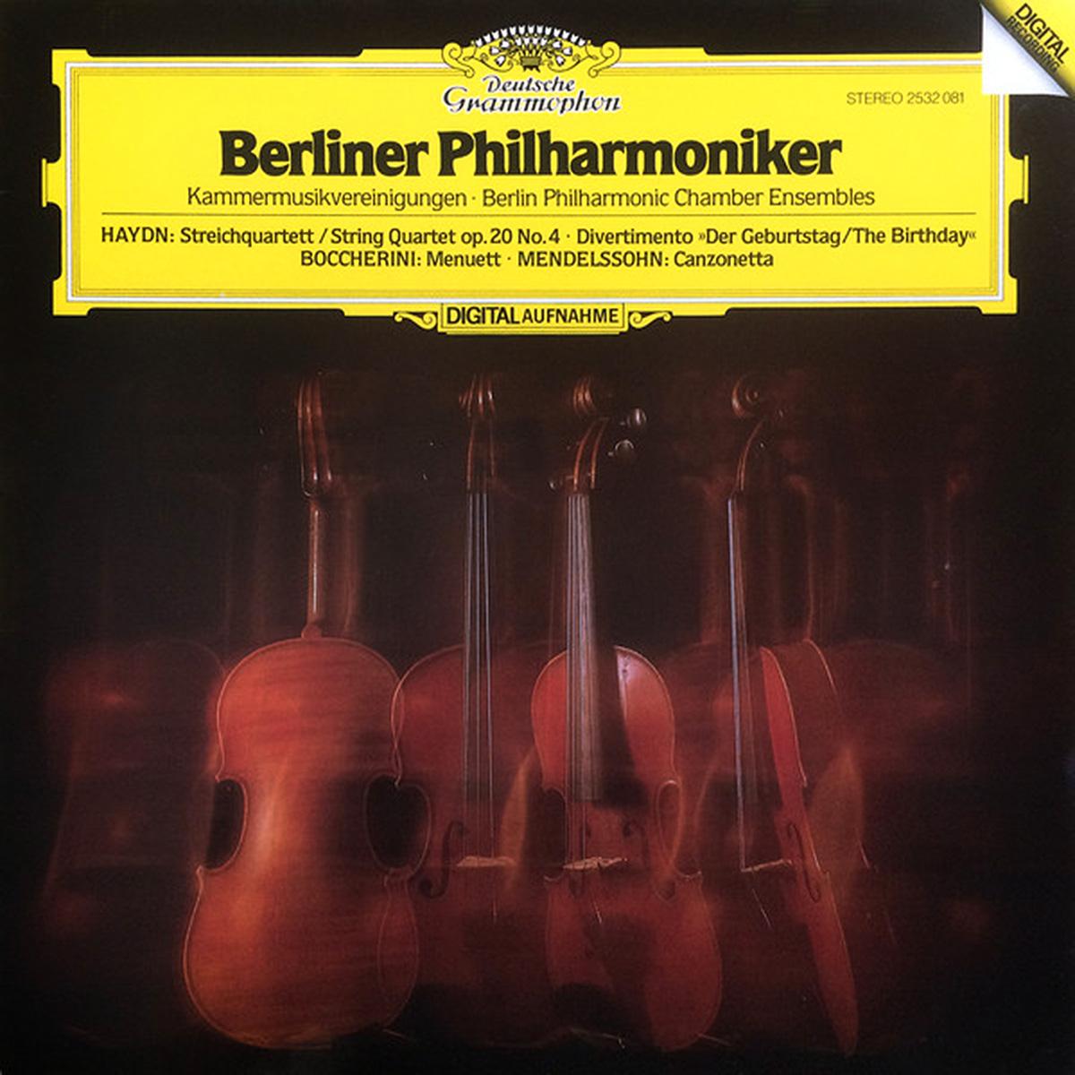 DGG 2532081 Berliner Philharmoniker
