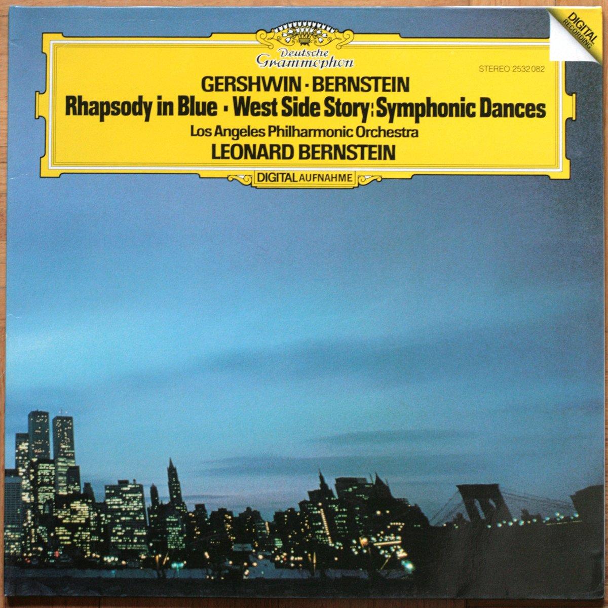 DGG 2532082 Gershwin Bernstein Rhapsody Bernstein