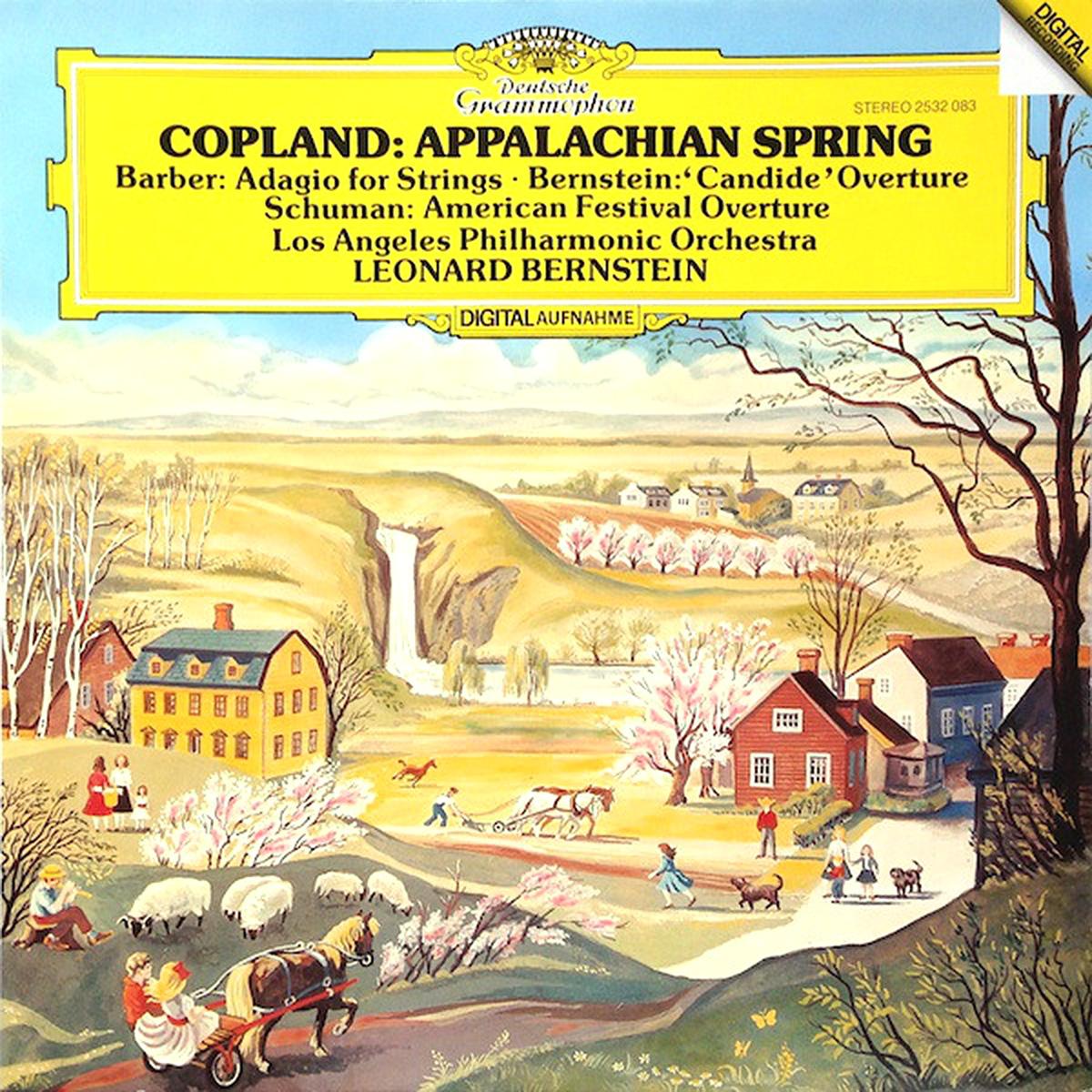 DGG 2532083 Copland Barber Bernstein
