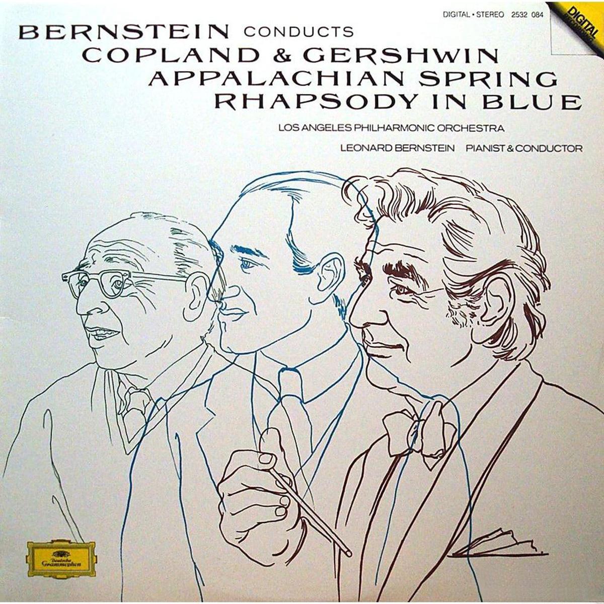 DGG 2532084 Copland Gershwin Bernstein