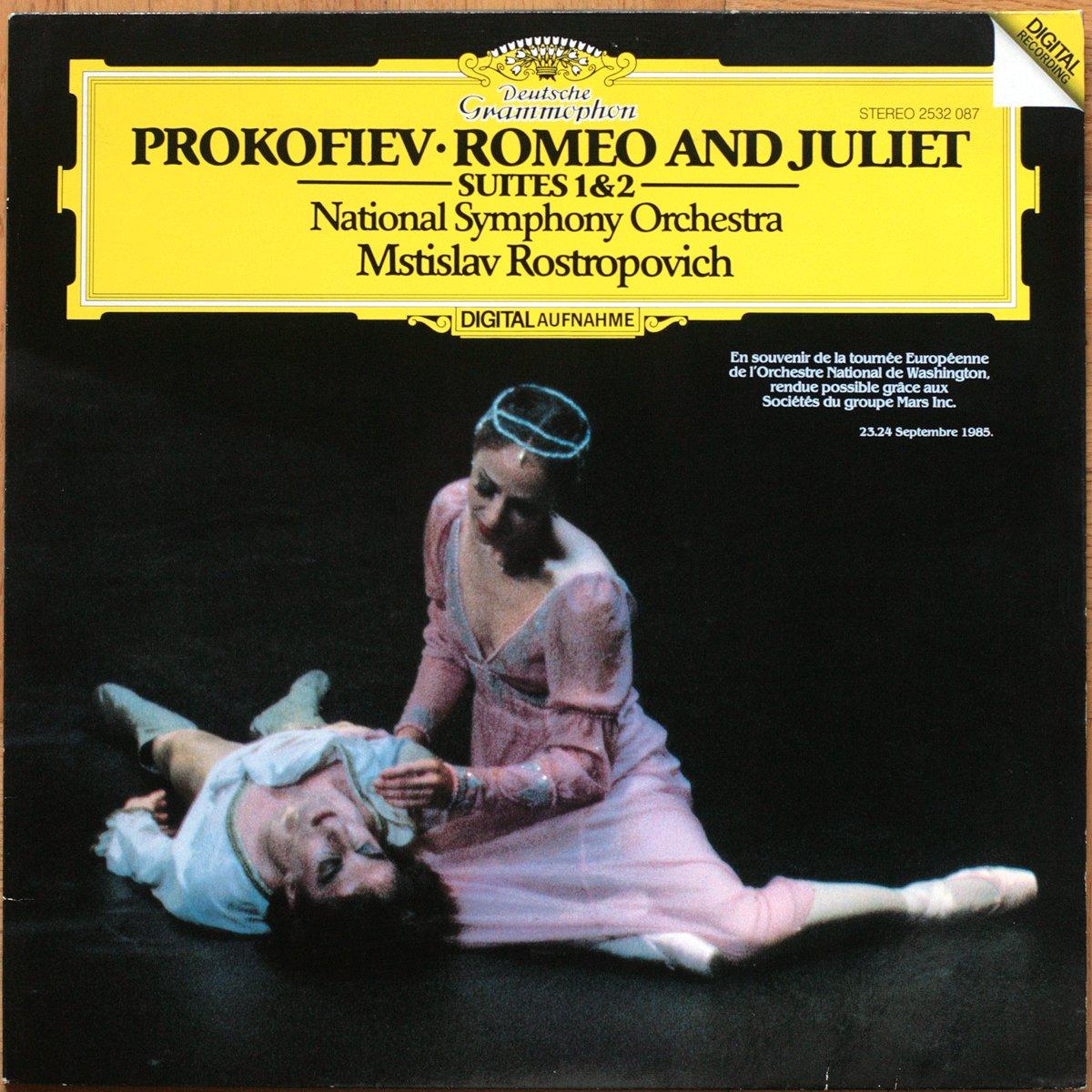 DGG 2532087 Prokofiev Romeo Juliette Rostropovich