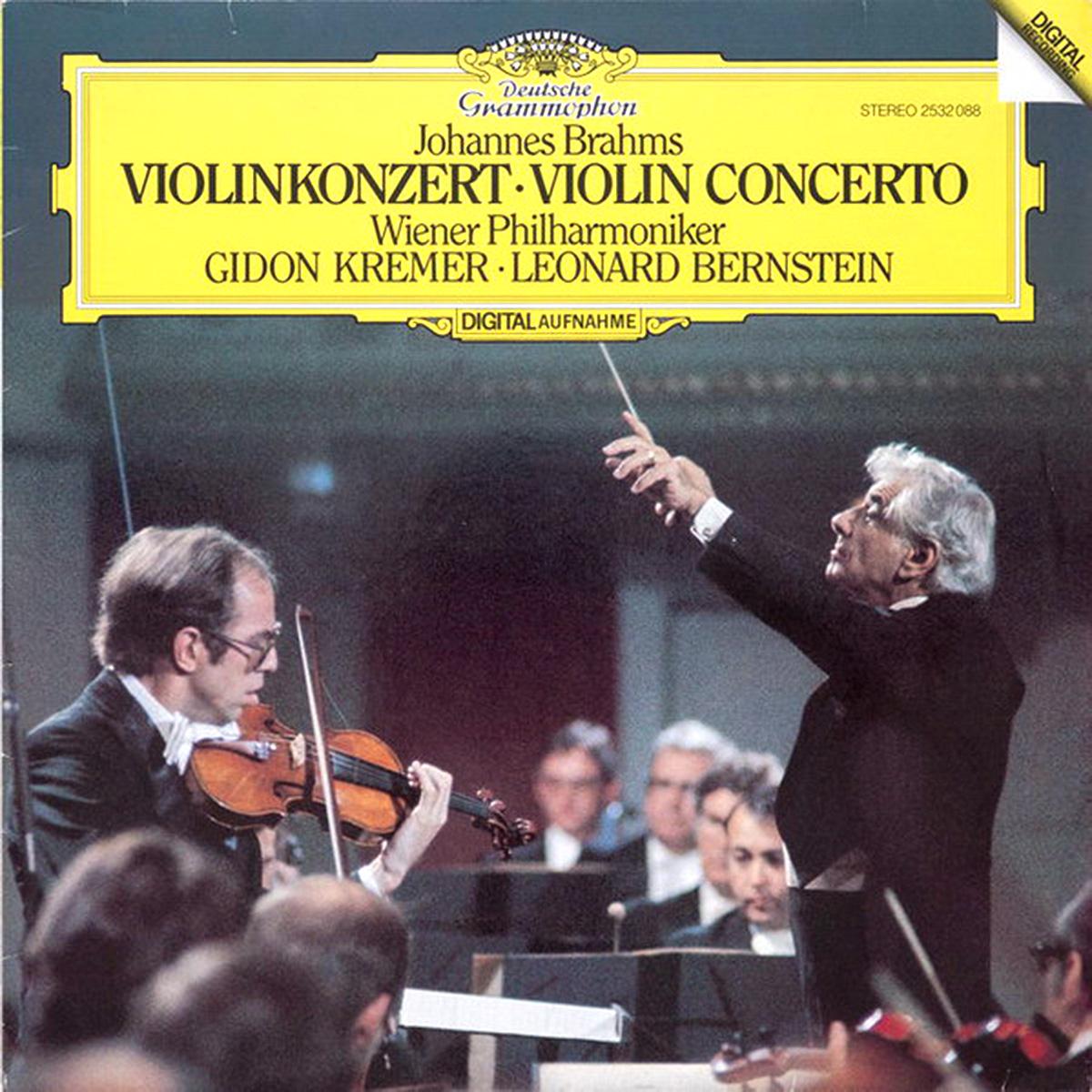 DGG 2532088 Brahms Concerto Violon Kremer Bernstein