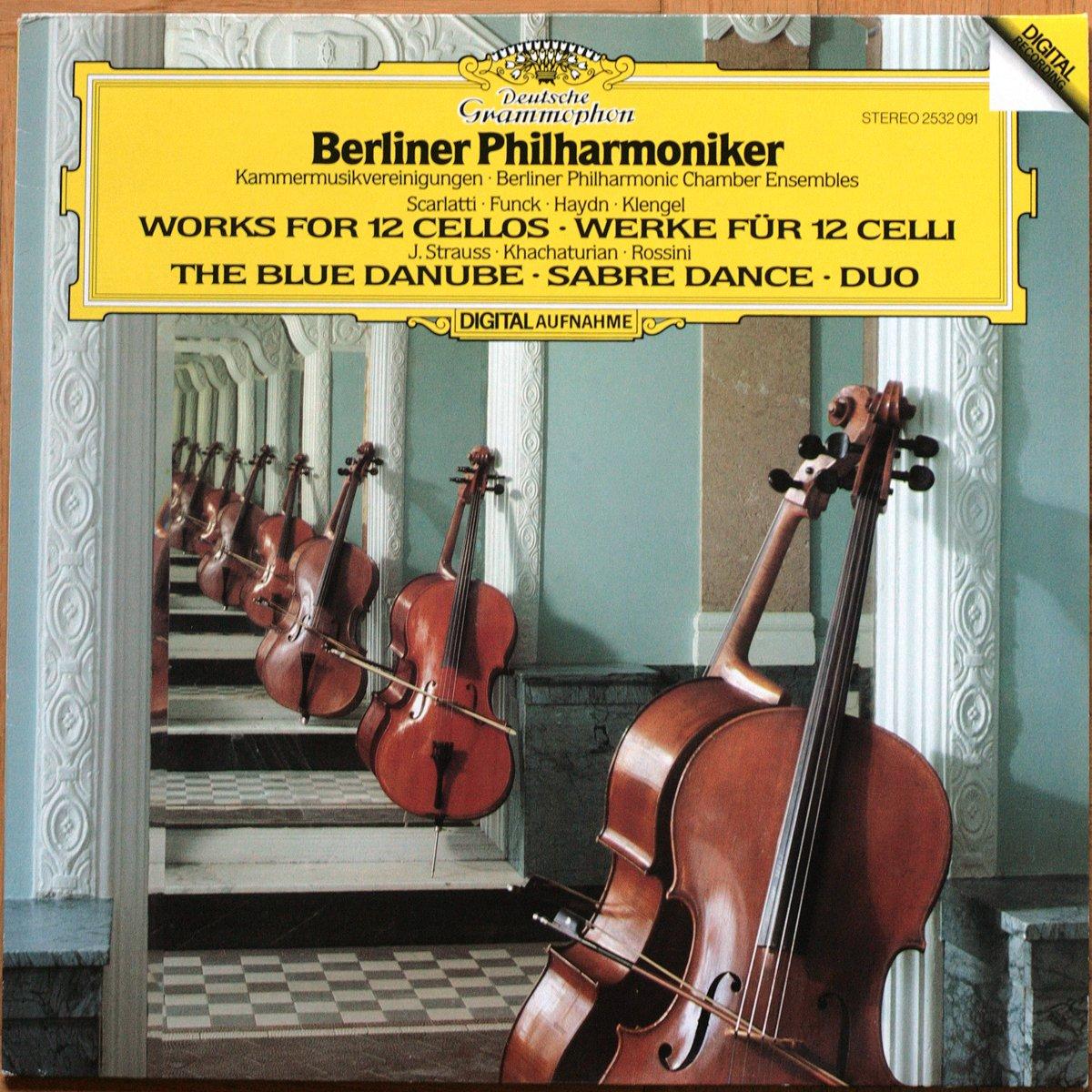 DGG 2532091 Werke 12 Celli Berliner Philharmoniker