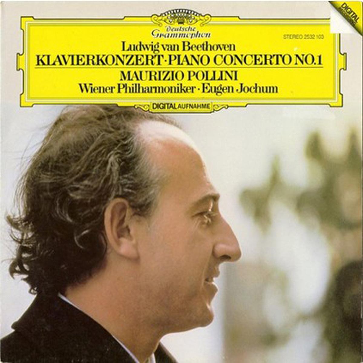 DGG 2532103 Beethoven Concerto Piano 1 Pollini Jochum