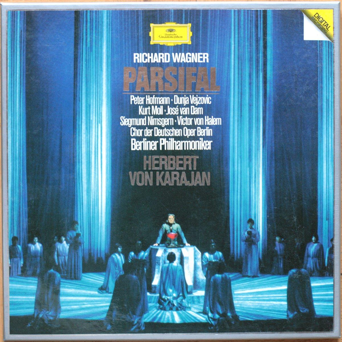 DGG 2741002 Wagner Parsifal Karajan