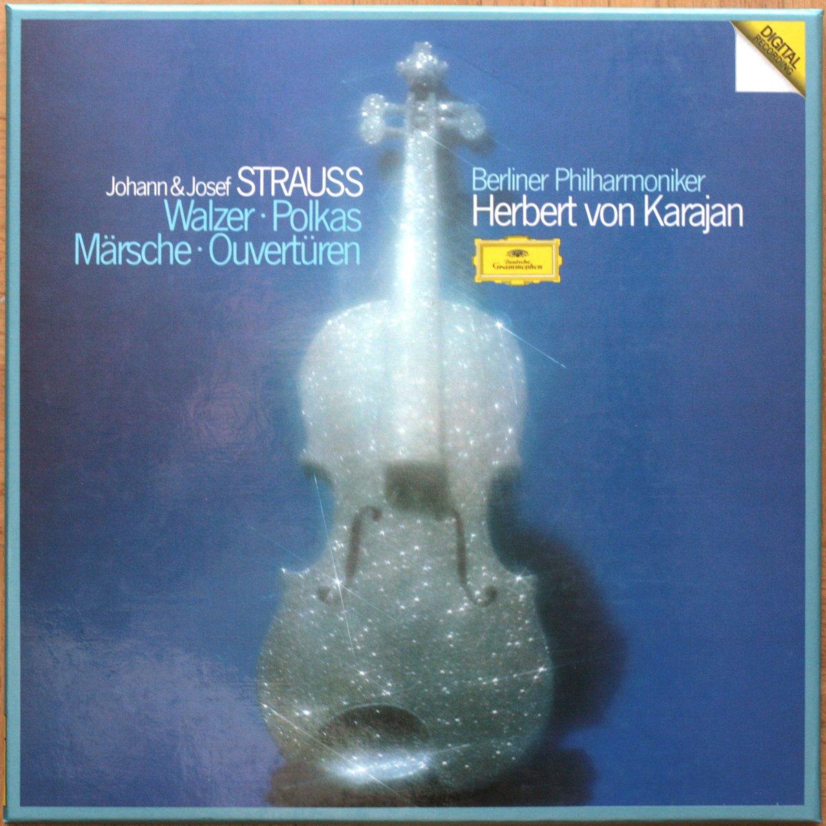 DGG 2741003 Strauss Valses Karajan