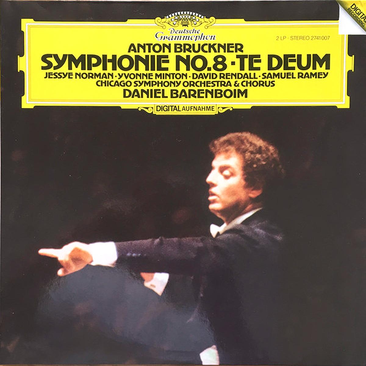 DGG 2741008 Bruckner Symphonie 8 Barenboim