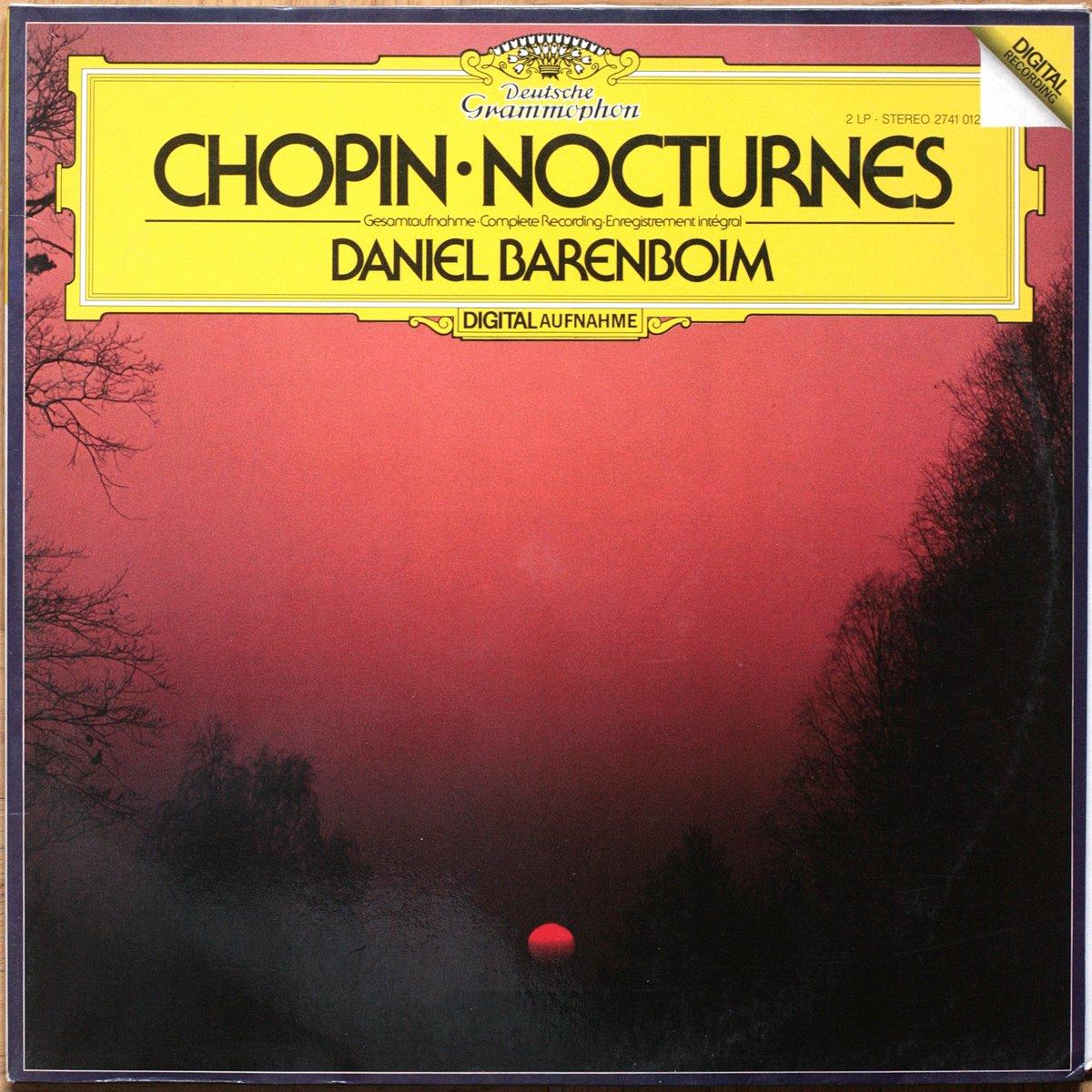 DGG 2741012 Chopin Nocturnes Barenboim