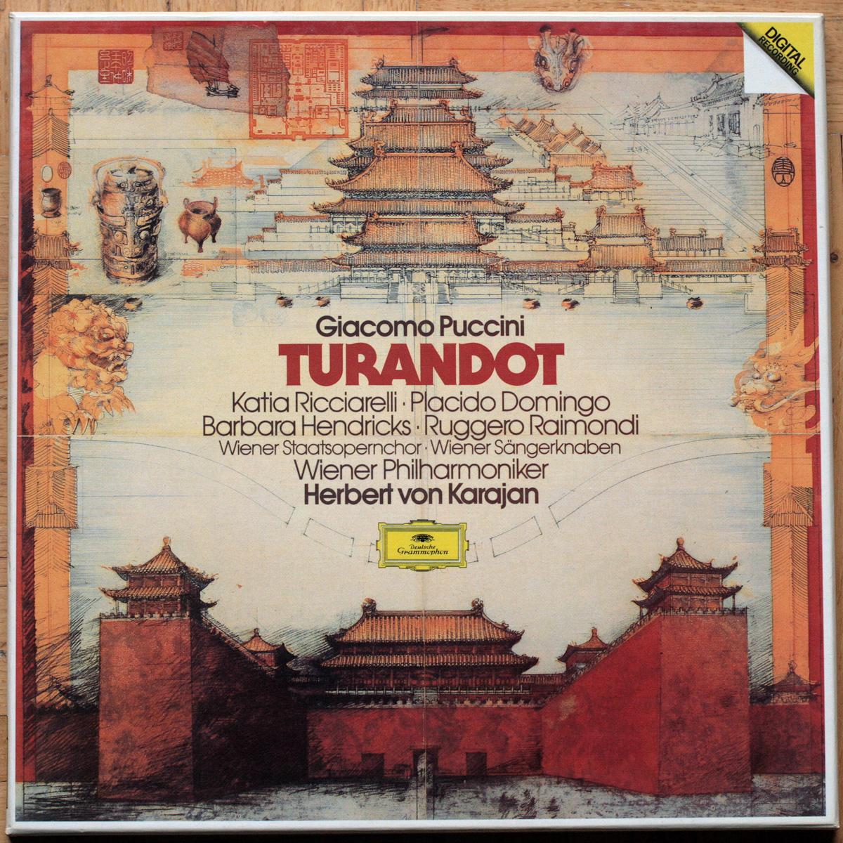 DGG 2741013_Puccini Turandot Karajan