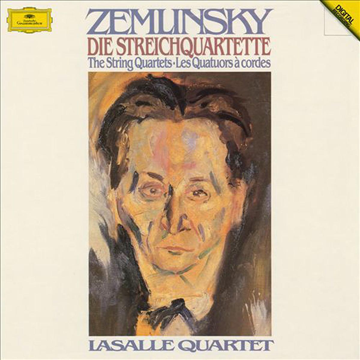 DGG 2741016 Zemlinsky Quatuor La Salle