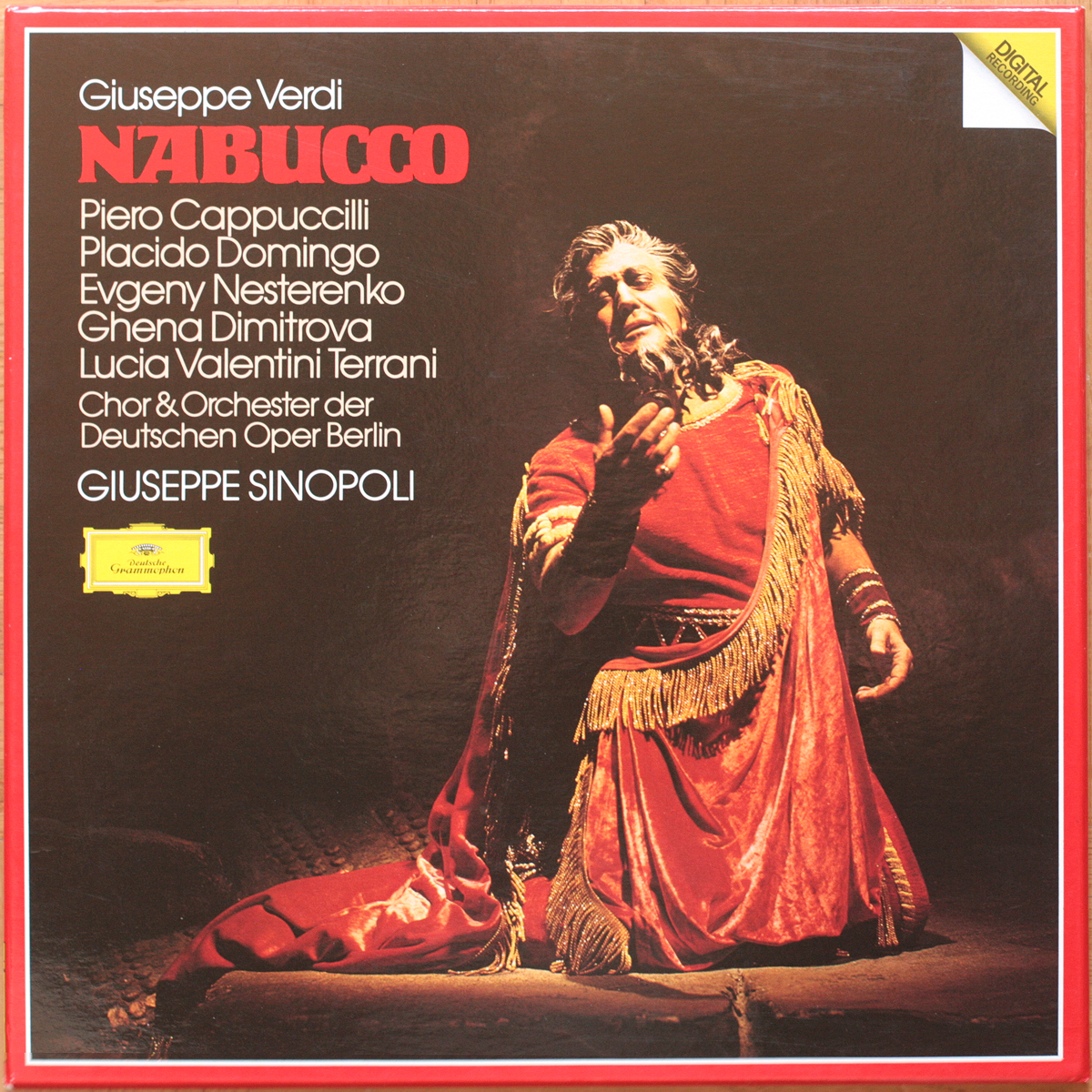 DGG 2741021 Verdi Nabucco Karajan
